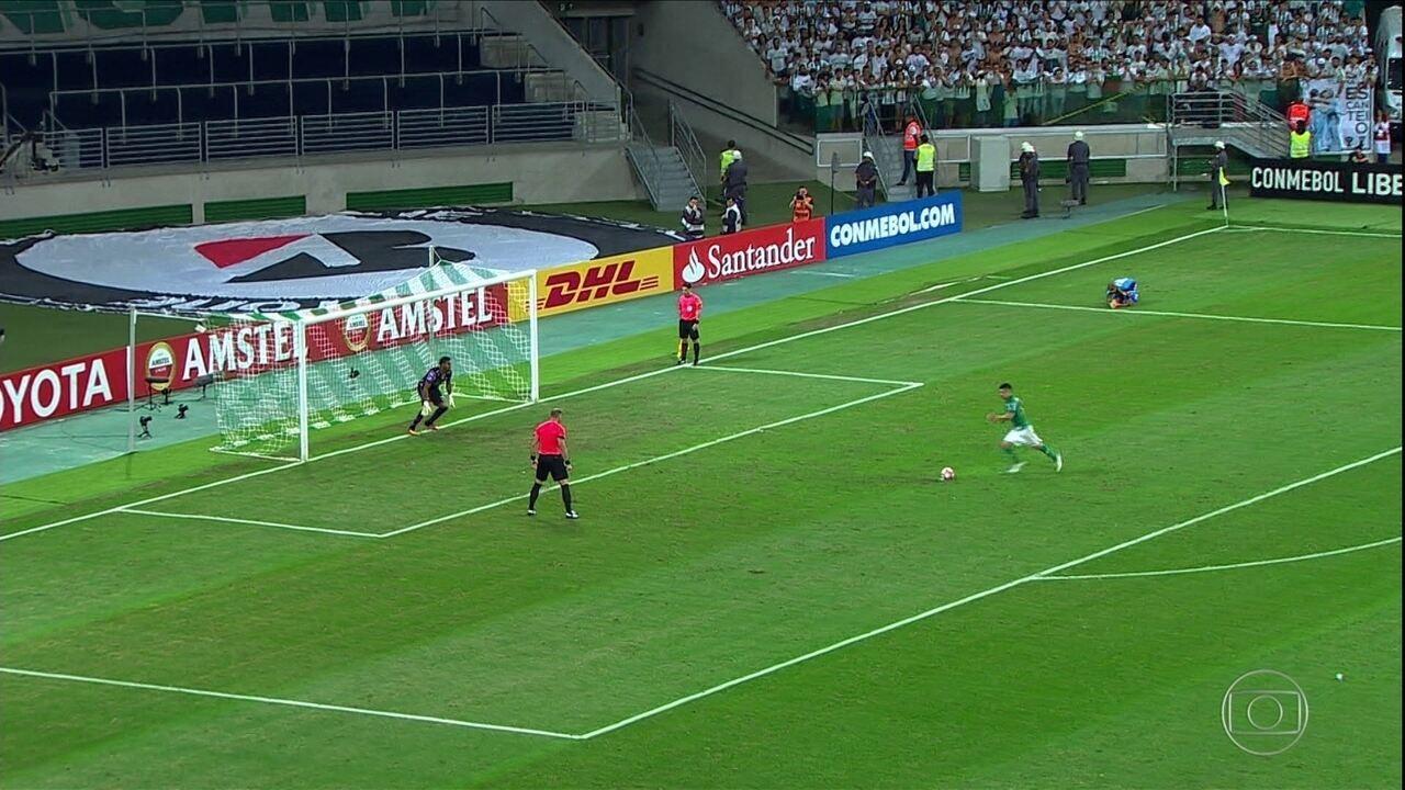 Veja como foi a queda do Palmeiras para o Barcelona-EQU nas oitavas da Libertadores