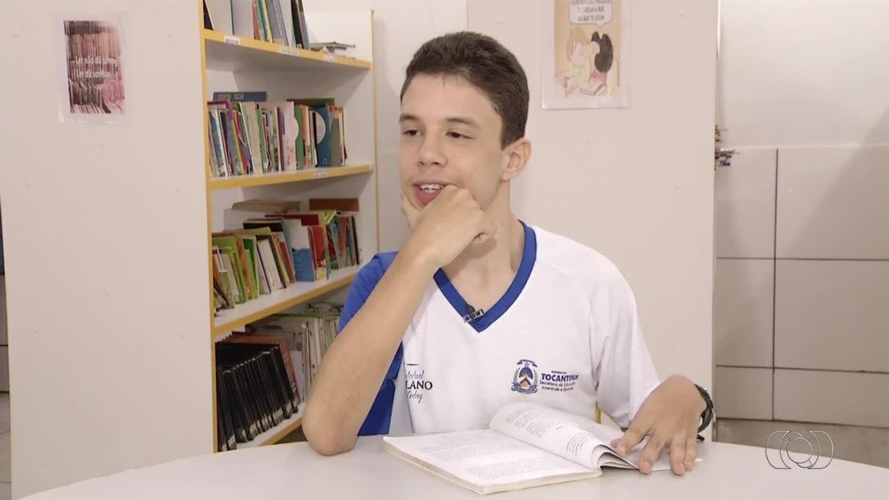 Estudante supera limites com a ajuda da família e da escola
