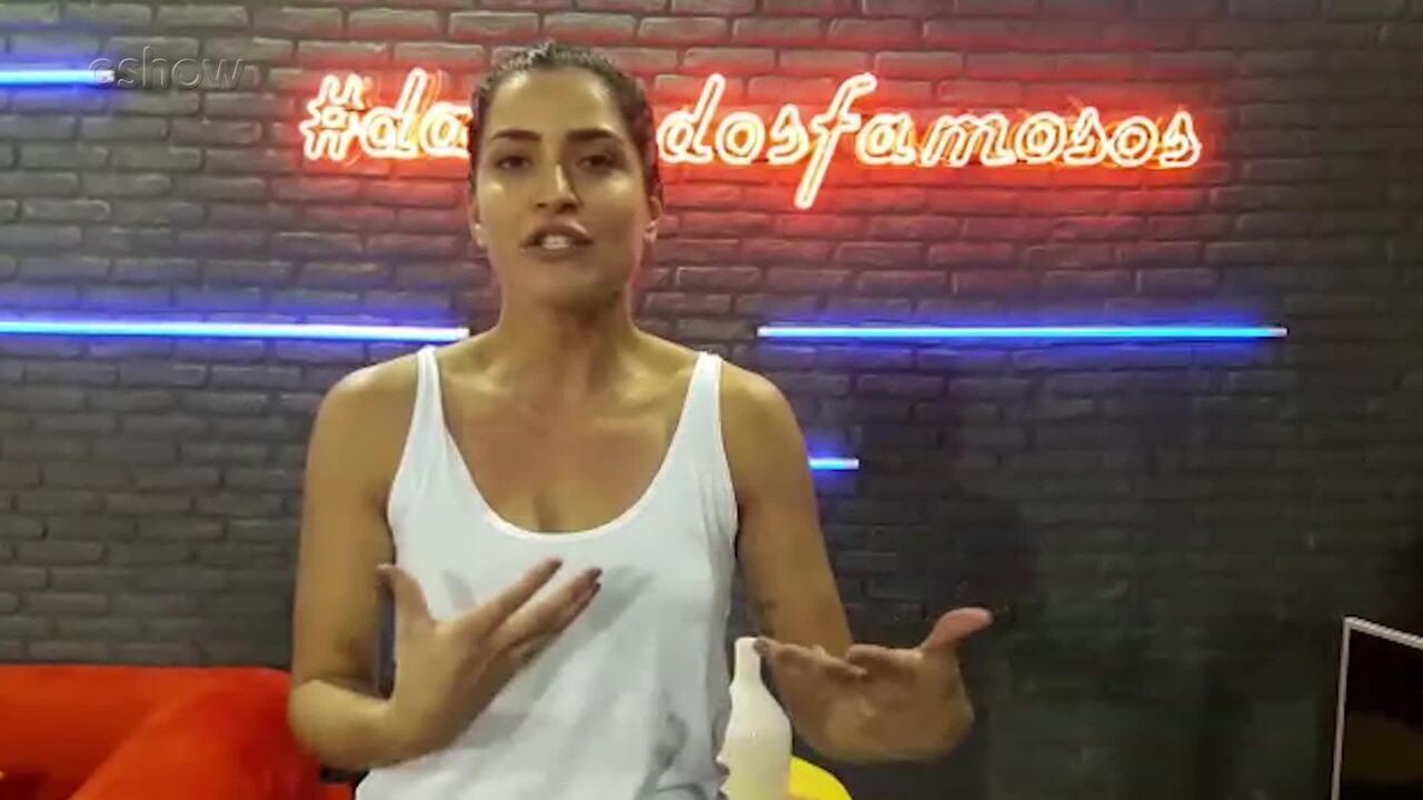 Maria Joana mostra suas tatuagens e revela seus significados
