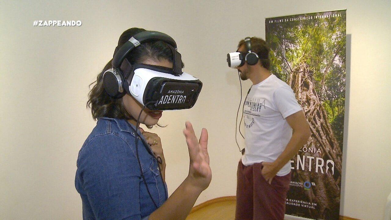Parte 2: Moa e Isa entram na Floresta Amazônica em uma experiência em 360 graus