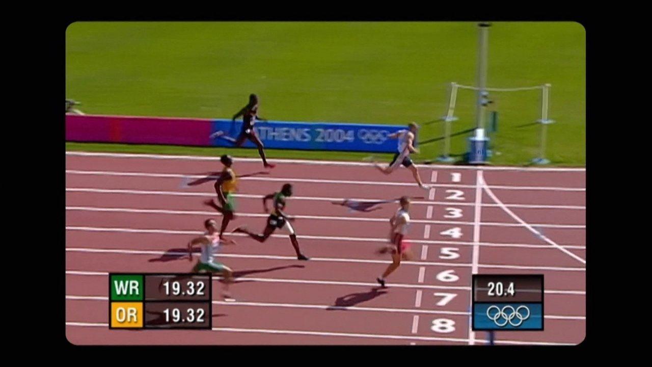 Em 2004, Usain Bolt estreia em Olimpíadas com eliminação nos 200m