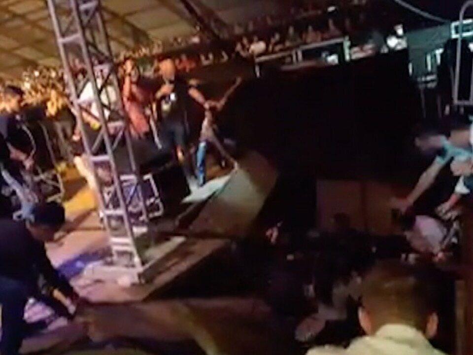 Desabamento de estrutura do show do DJ Alok deixa feridos em Pres. Prudente