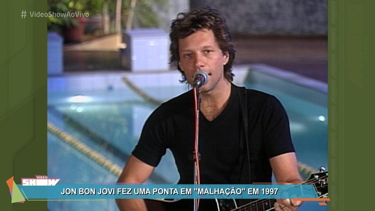 Relembre participação de Jon Bon Jovi em 'Malhação'