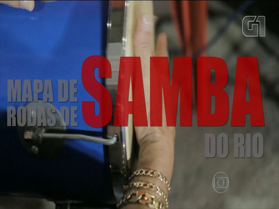 Prefeitura cria mapa virtual das rodas de samba do Rio de Janeiro