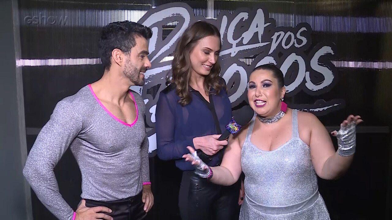 Mariana Xavier fala sobre a liderança na primeira semana do 'Dança dos Famosos'