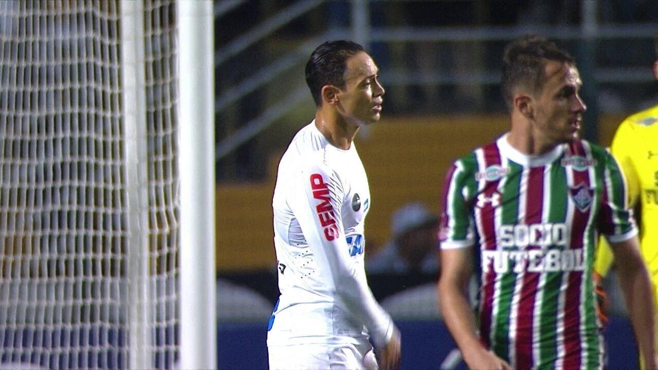 Melhores momentos  Santos 0 x 0 Fluminense pela 20ª rodada do Brasileirão 53669f2b93b38