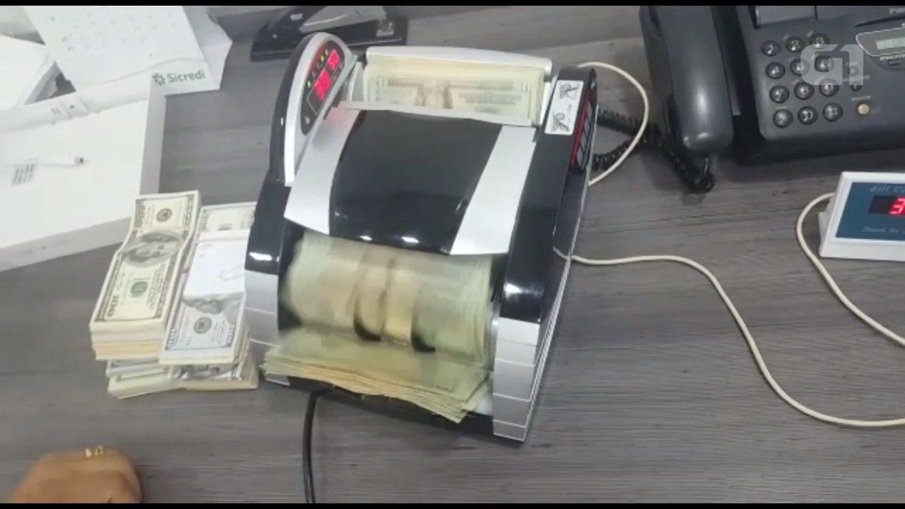 Operação Hammer-on apreende R$ 900 mil em notas estrangeiras e em reais, diz PF