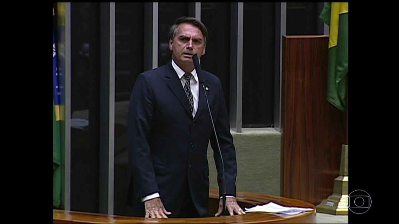 STJ mantém condenação ao deputado Jair Bolsonaro por ofensas à deputada Maria do Rosário