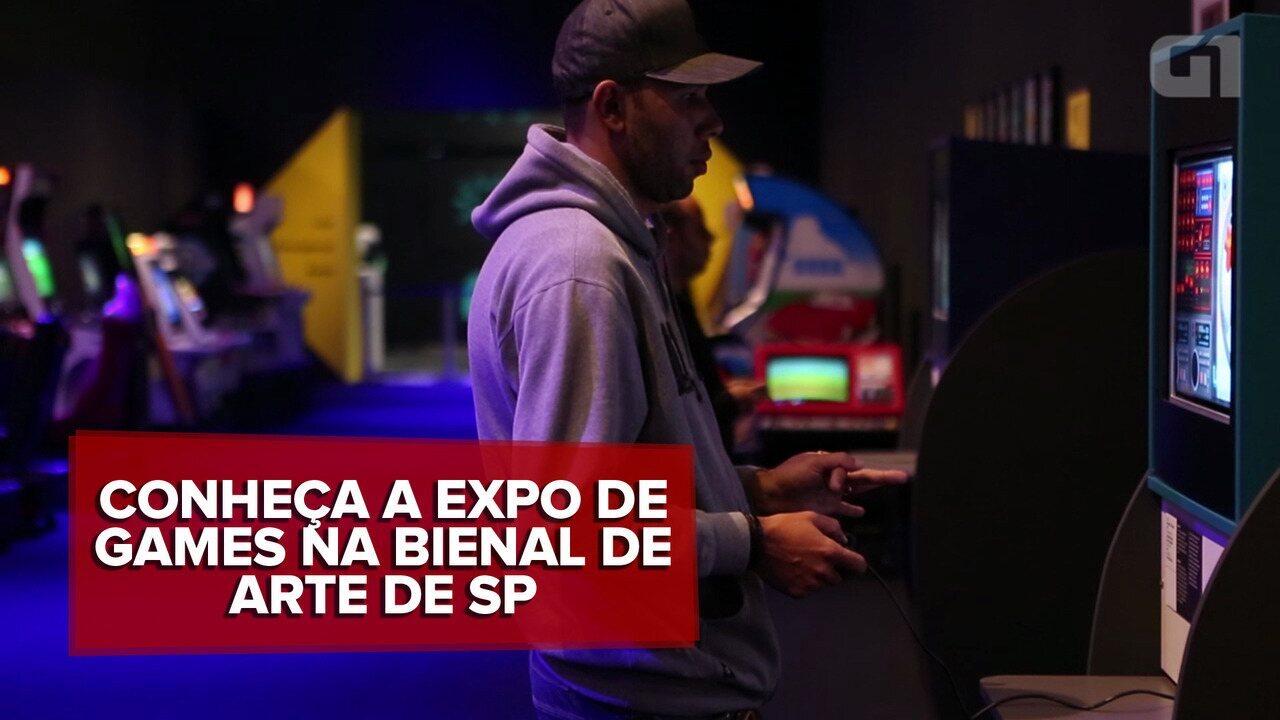 A Era dos Games leva 150 jogos para dentro do Pavilhão da Bienal, em SP