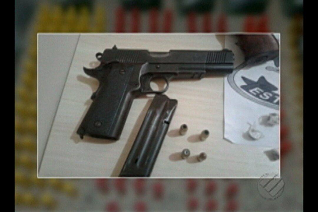 Em Igarapé Açu, grupo é preso suspeitos de cometerem vários crimes na região