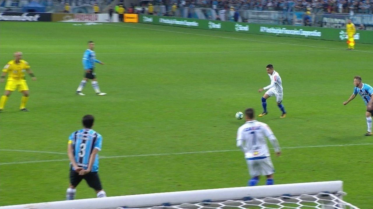 Veja os melhores momentos de Grêmio 1 x 0 Cruzeiro