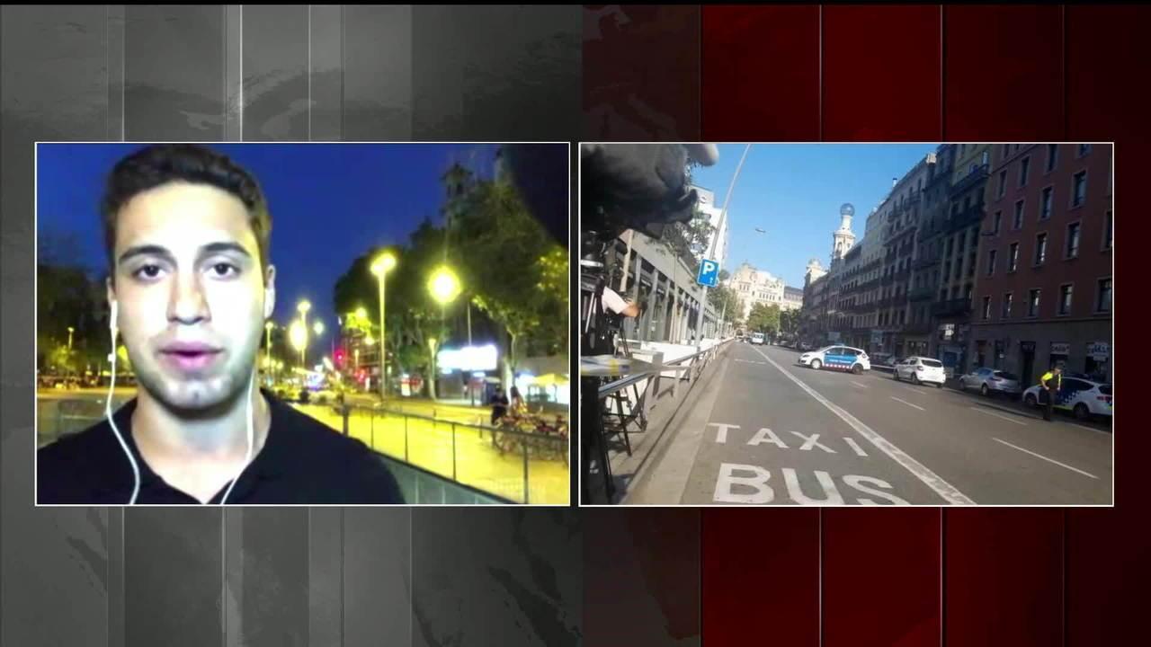 Estações do metrô perto do local do atentado em Barcelona não estão funcionando