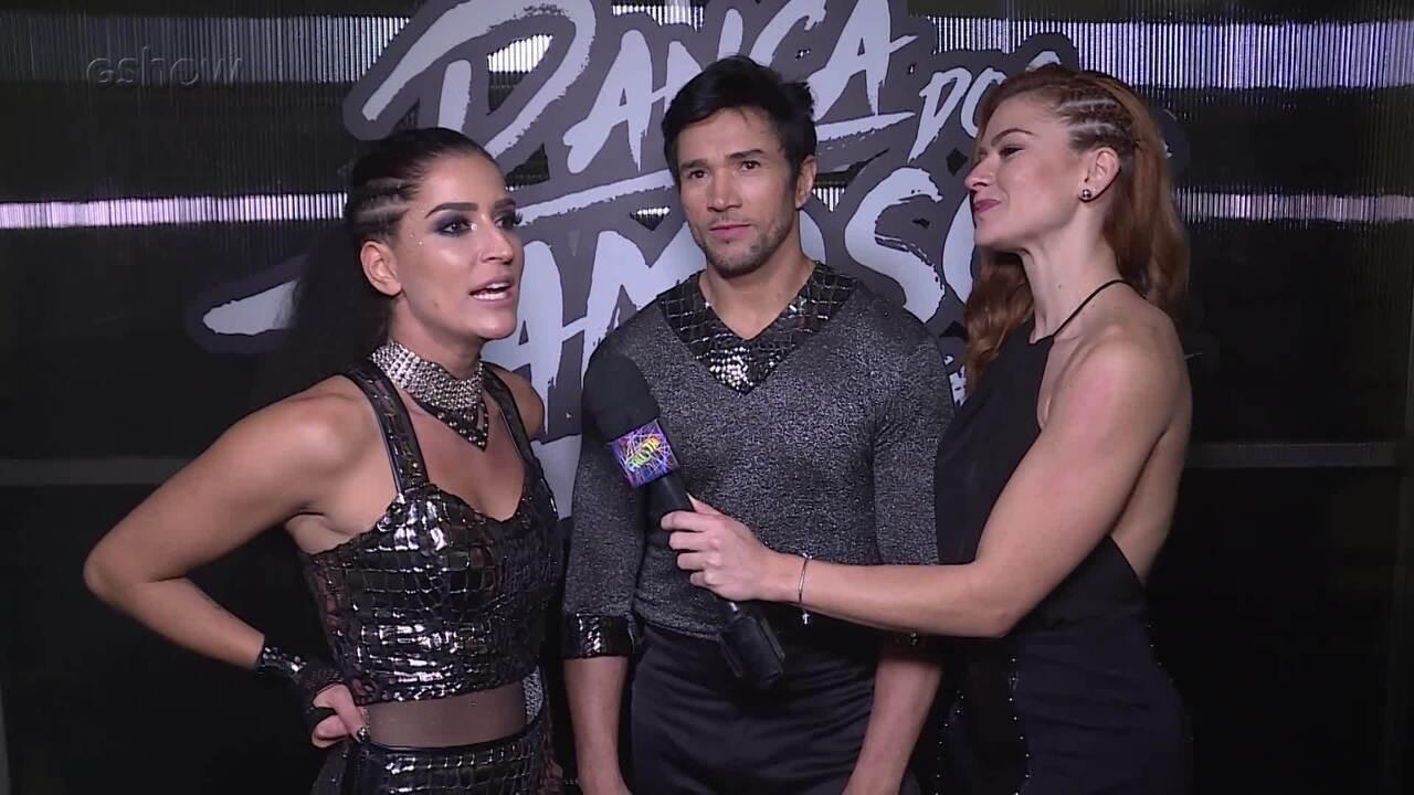 Maria Joana fala sobre a estreia na Dança dos Famosos