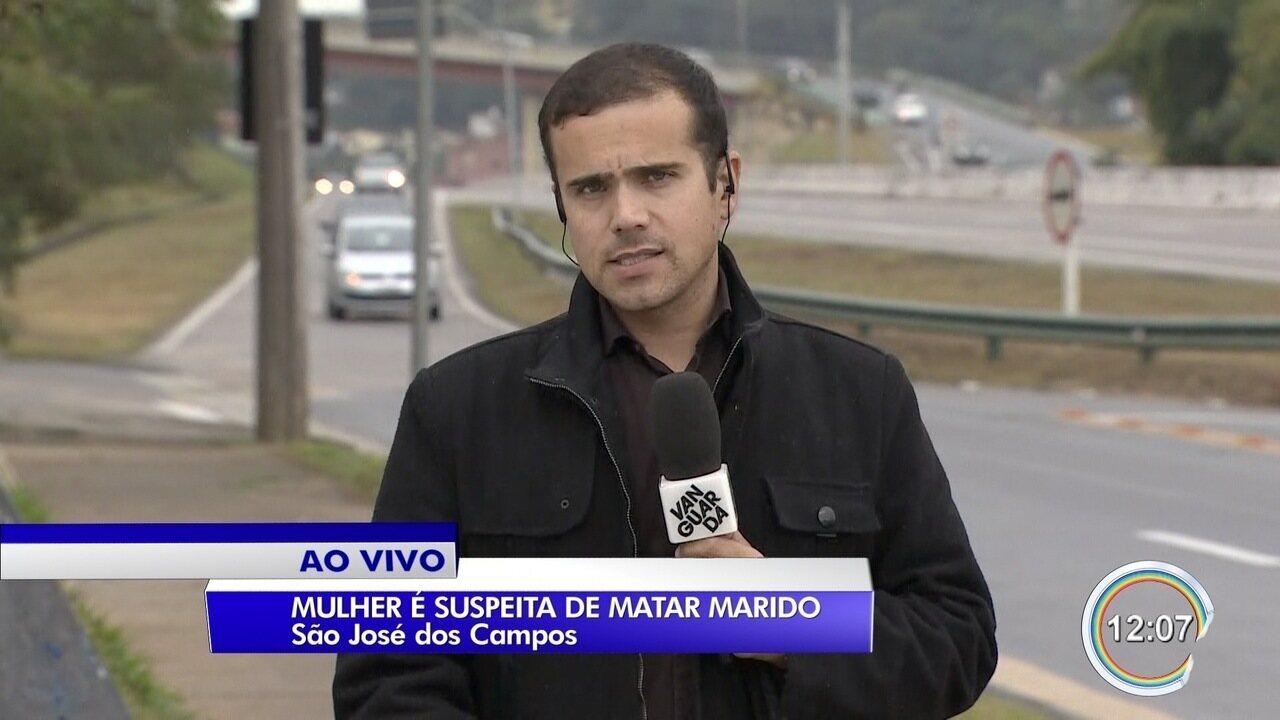 Mulher é suspeita de matar companheiro com facada em São José