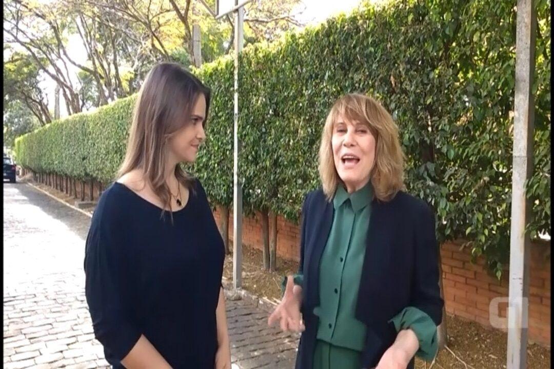 Atriz Renata Sorrah conversa com o G1 sobre a peça 'Esta Criança', a personagem Nazaré e sobre a carreira