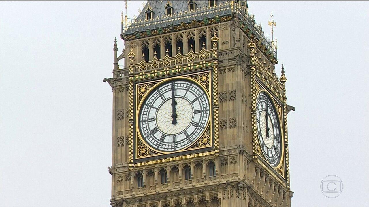 b44360779eb Big Ben de Londres toca suas últimas badaladas antes de quatro anos de  silêncio