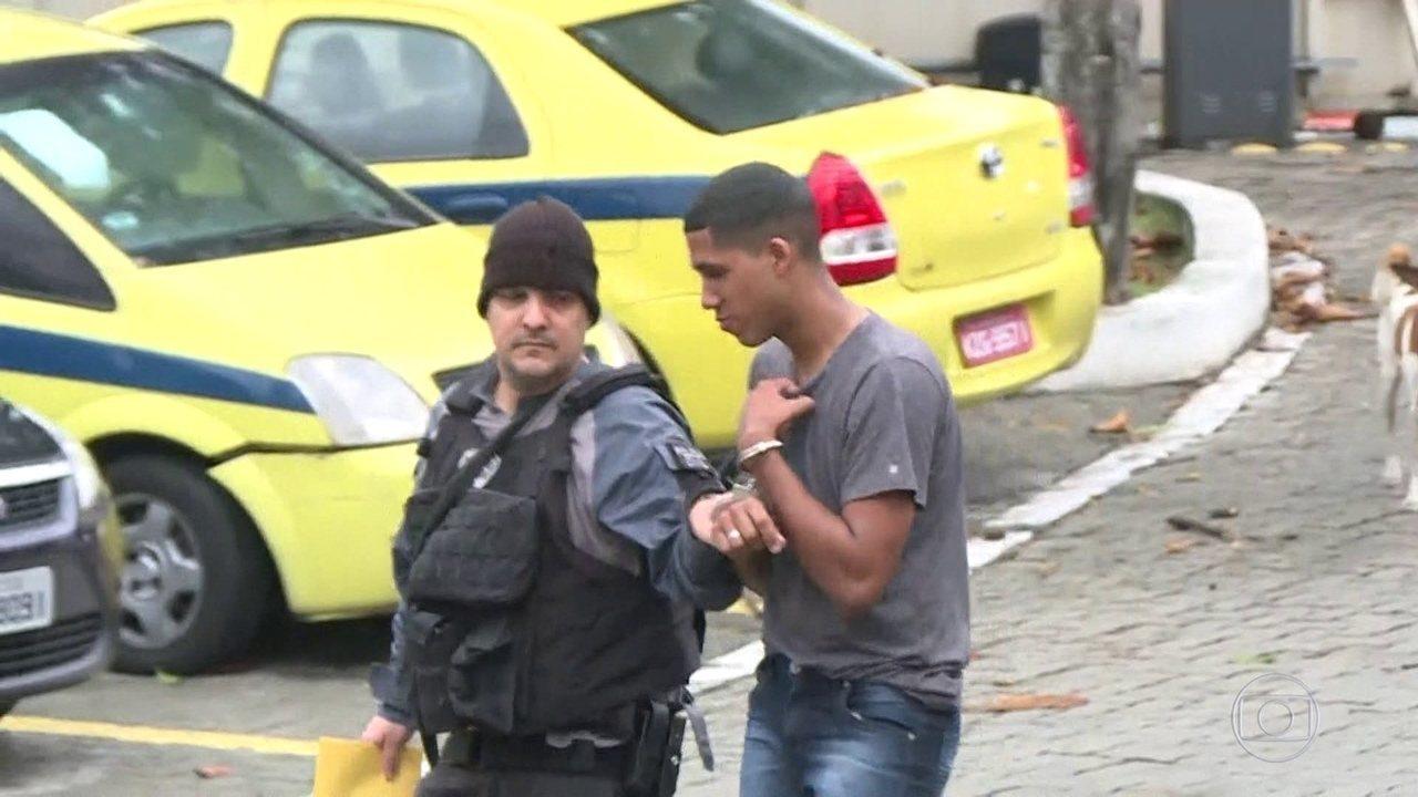 Forças de segurança fazem operação em favelas da zona norte do Rio