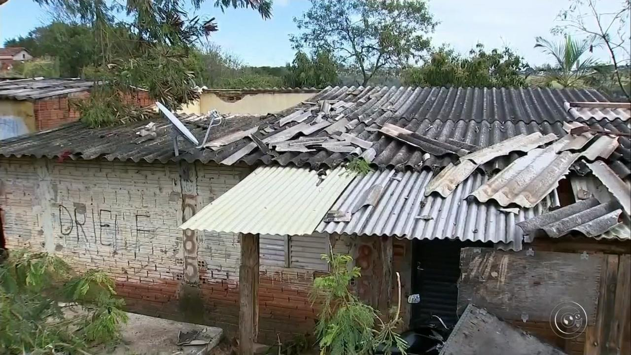 Temporal em Marília provoca estragos e deixa desabrigados