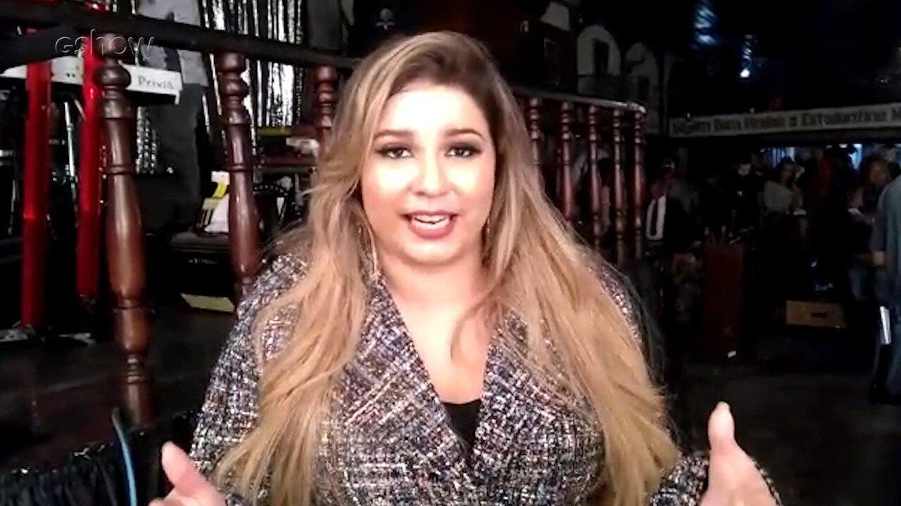 Marília Mendonça participa de gravação em 'A Força Do Querer'