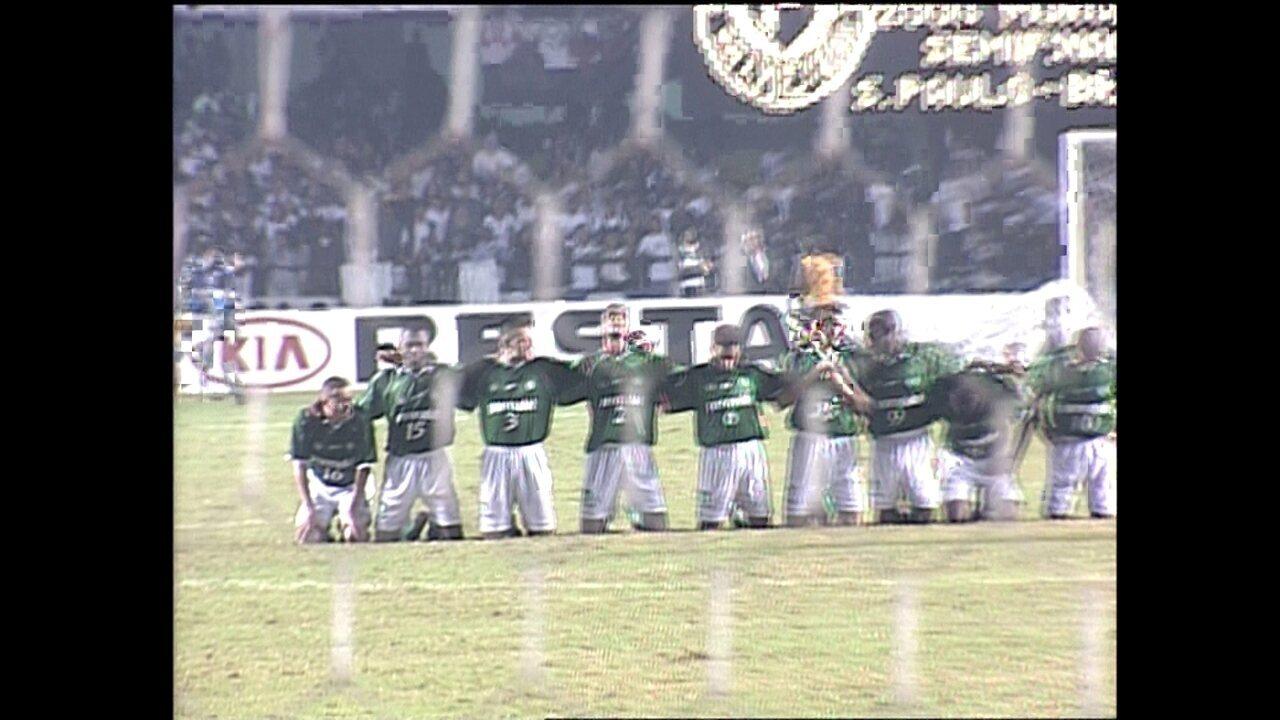 Os pênaltis de Palmeiras x Corinthians na Libertadores de 2000