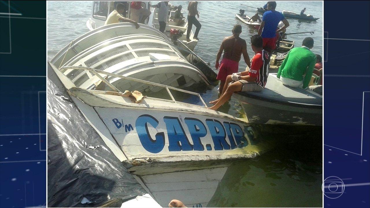 Barco com pelo menos 70 pessoas afunda no Pará; já são dez mortos