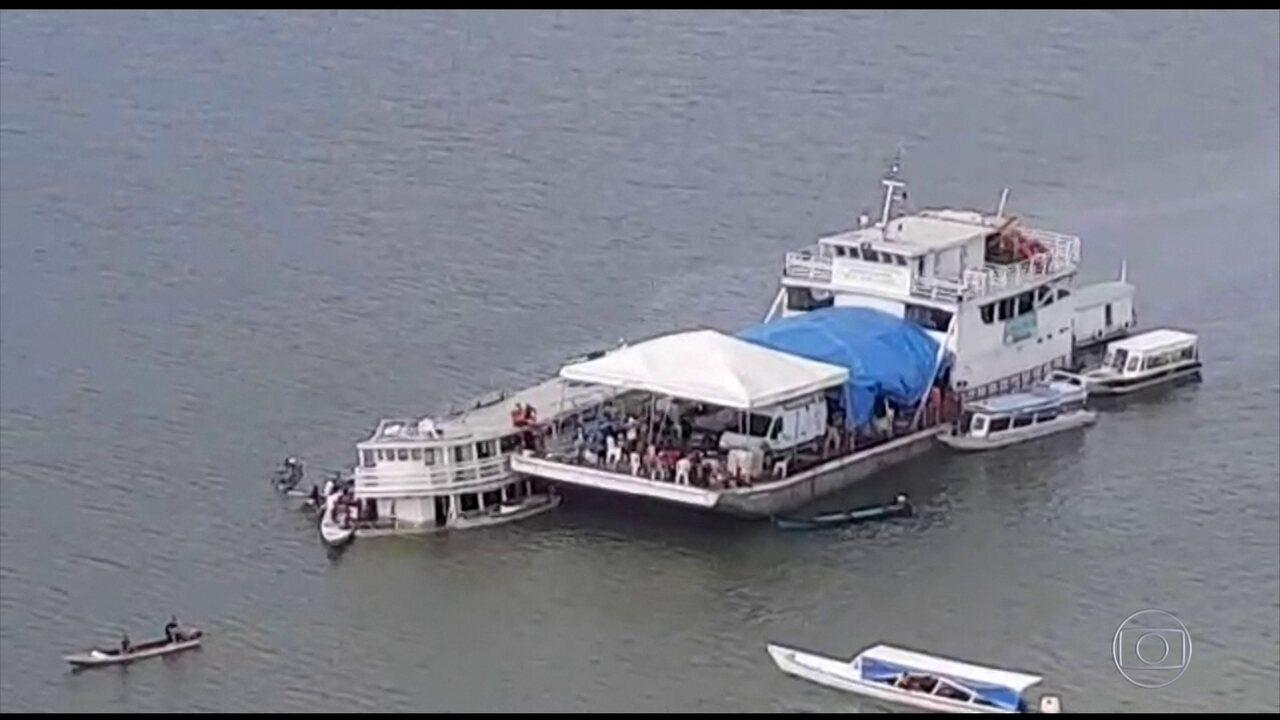 No Pará, já são 21 os mortos em naufrágio no Rio Xingu