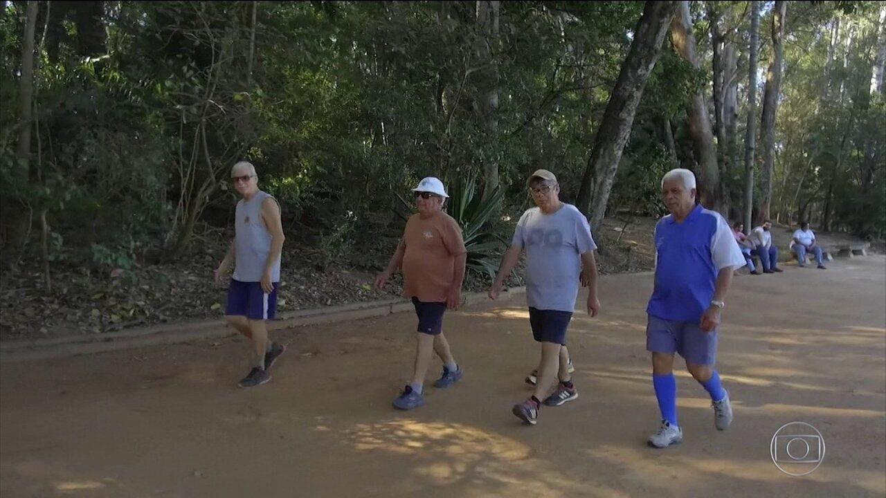 Caminhar 10 minutos por dia reduz risco de morte precoce, diz estudo