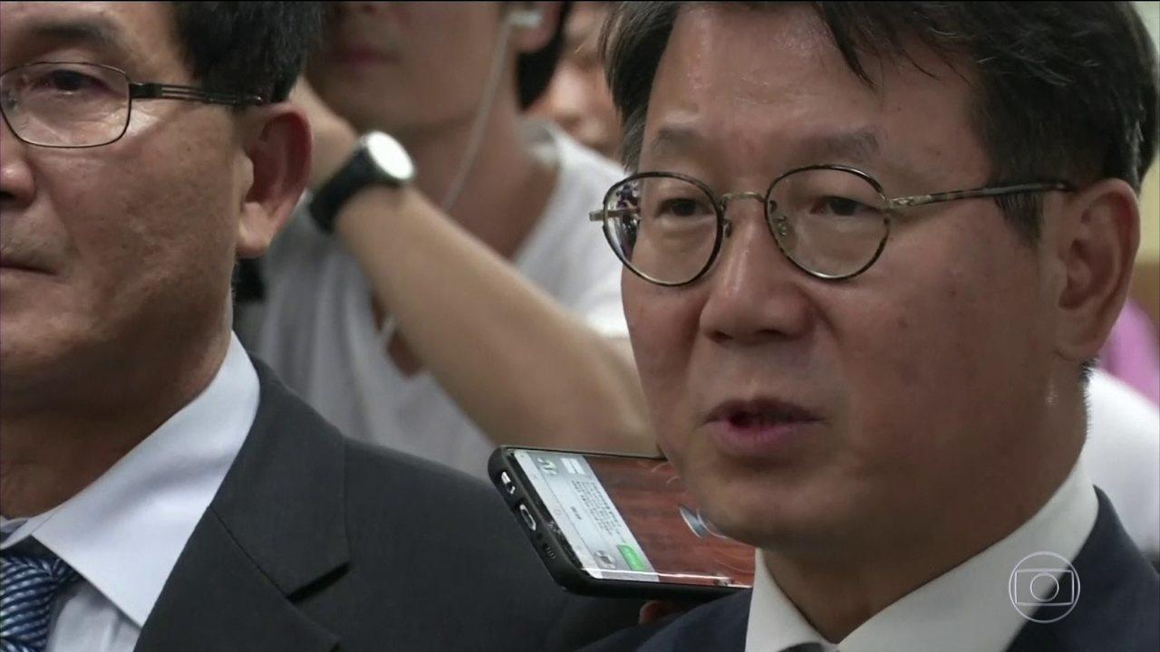 Herdeiro da Samsung é condenado a cinco anos de cadeia por corrupção