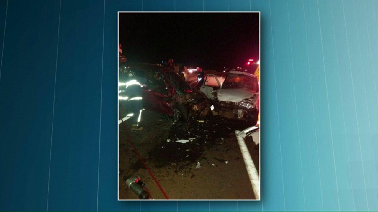 Motorista bêbado dirige na contramão da BR-467 e provoca acidente, segundo a PRF