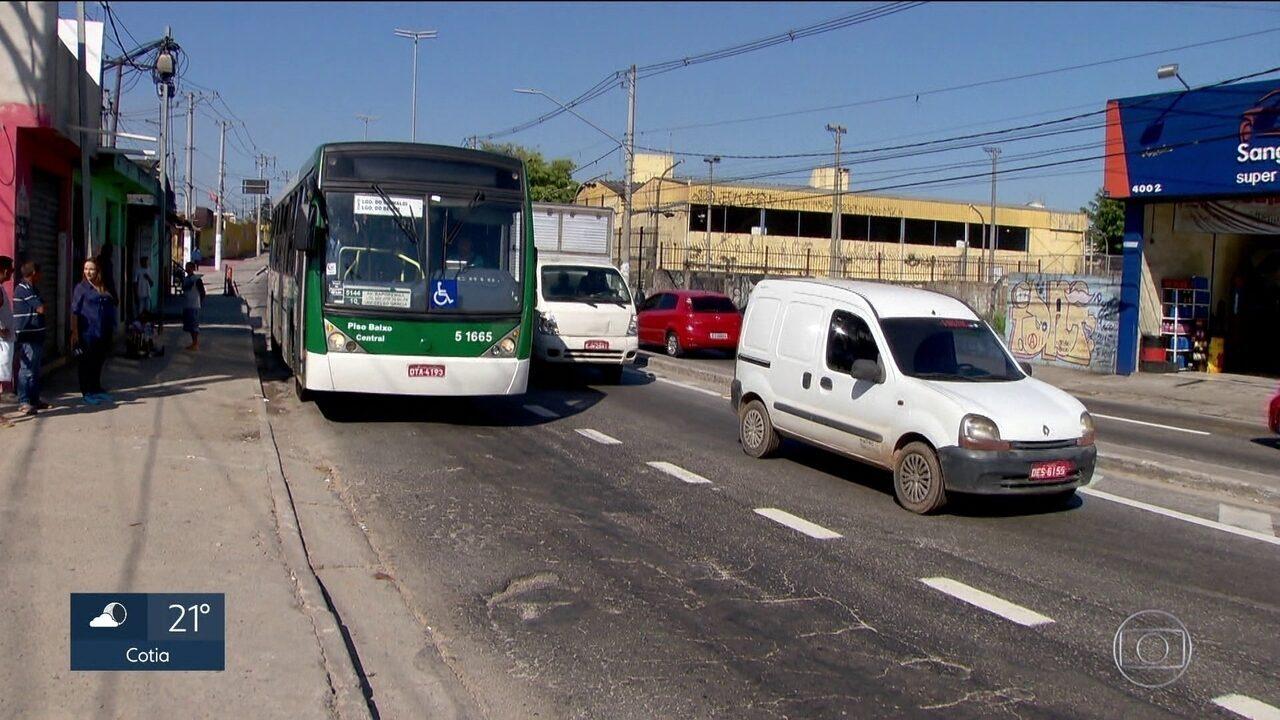 Prefeitura vai tirar quase R$8 milhões da conservação dos corredores de ônibus da cidade