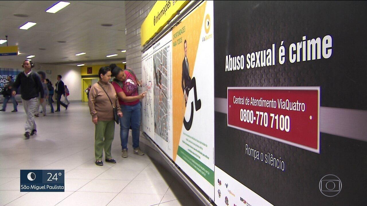 Tribunal de Justiça lança campanha para estimular denúncias contra assédio no transporte