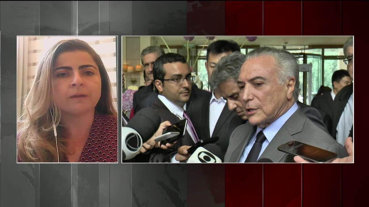 Temer comenta rejeição de pedido de suspeição de Janot e polêmica sobre Amazônia