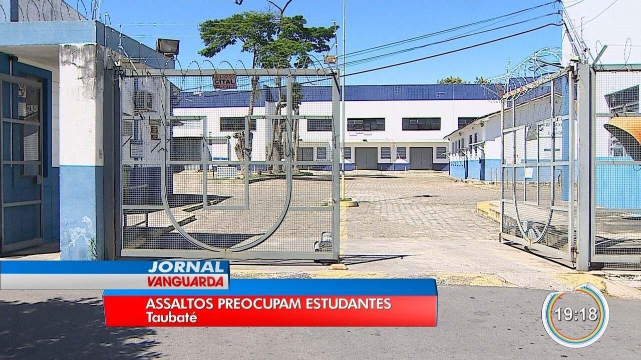 Resultado de imagem para Estudantes de Taubaté reclamam de assaltos próximos à universidade