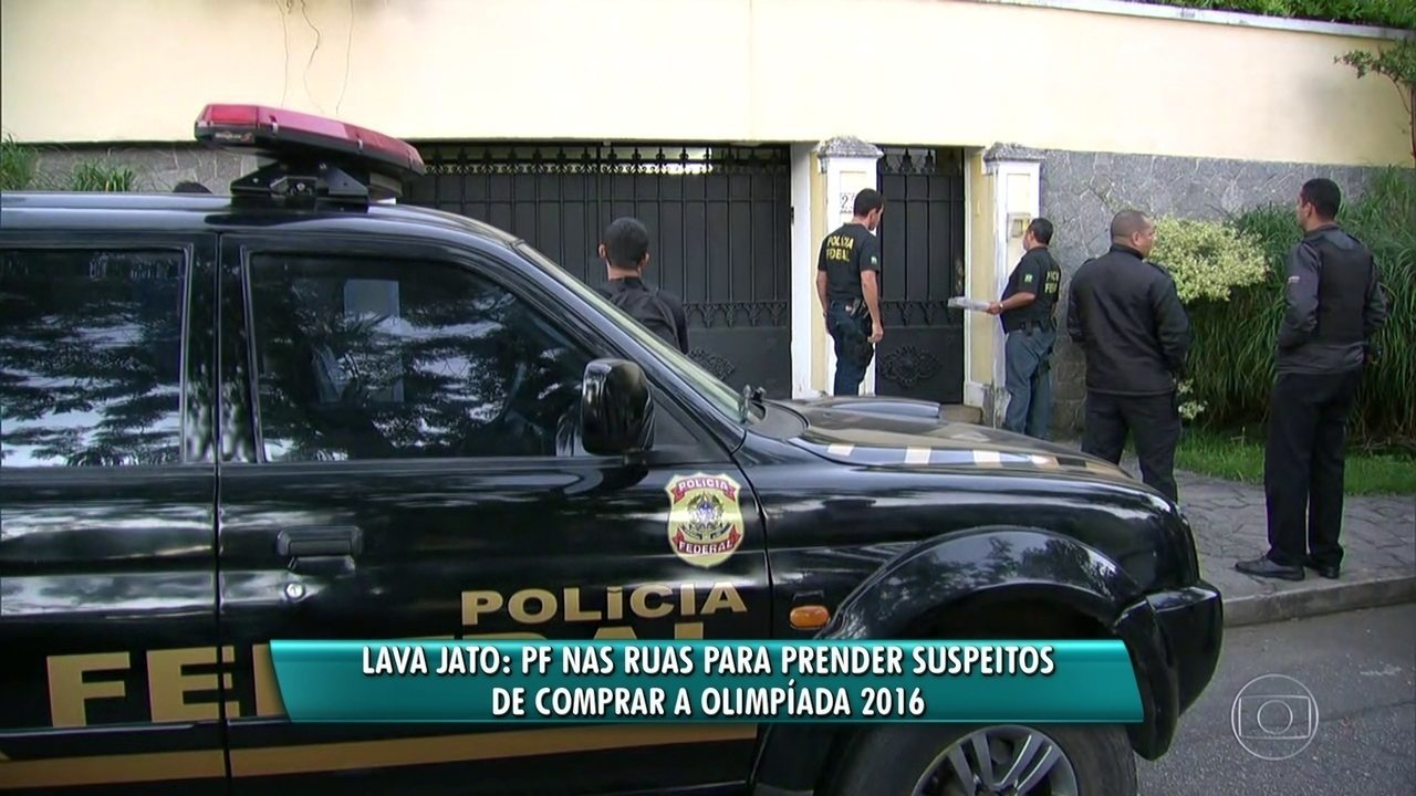 PF está nas ruas para prender suspeitos de comprar Olimpíada 2016