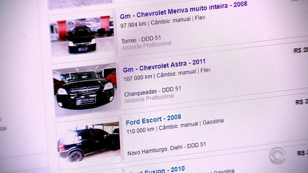 75bba9e2e95 Polícia descobre golpe em venda de carros pela internet na Serra gaúcha