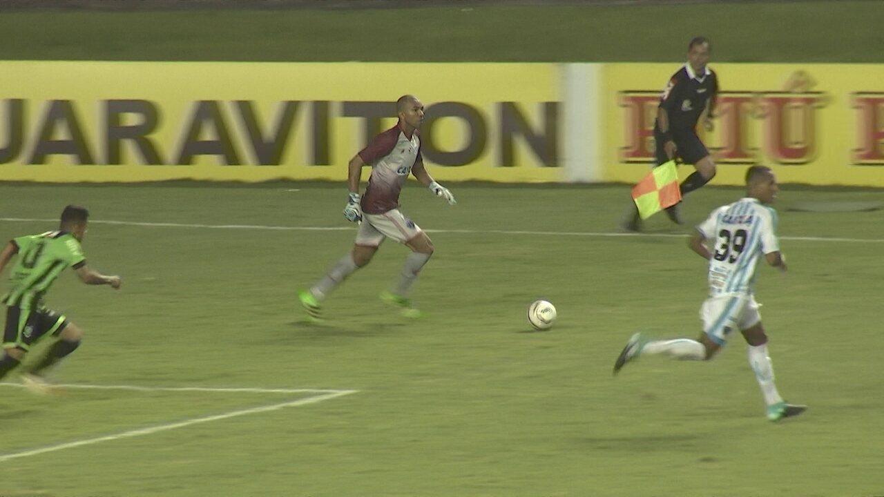 Melhores momentos: Paysandu 0 x 1 América-MG pela 23ª rodada da série B do Brasileirão