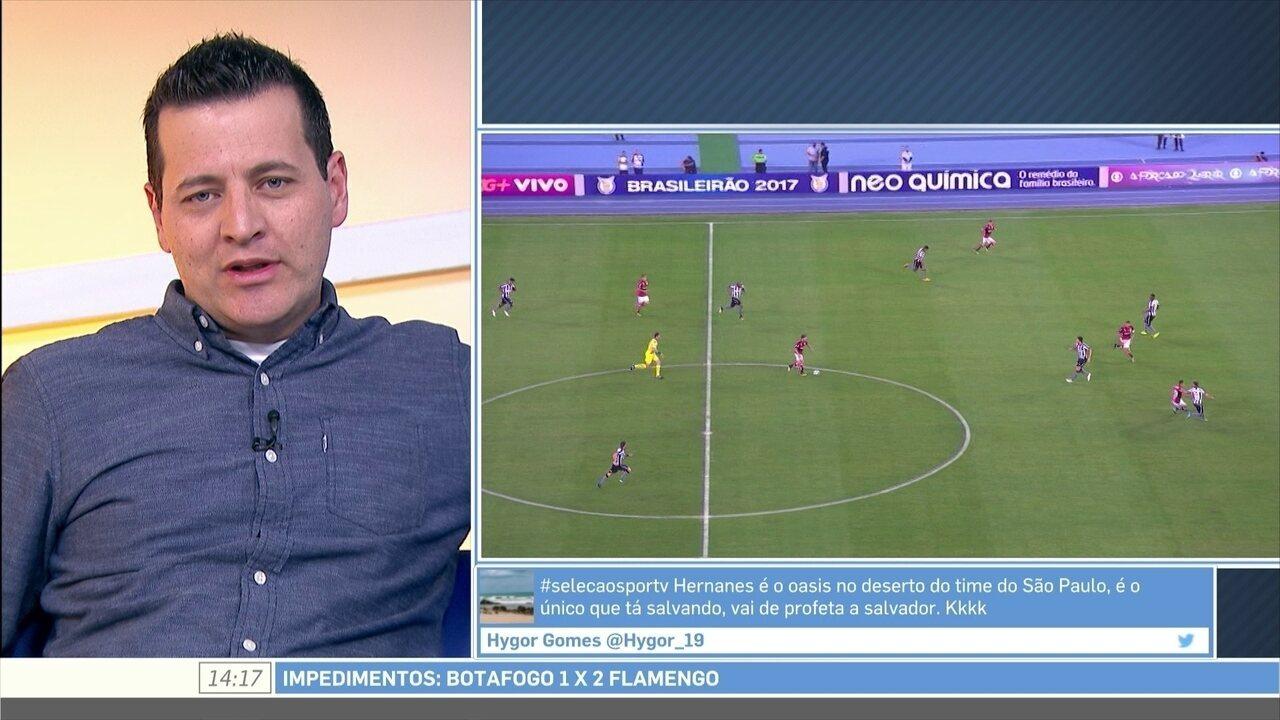 Andrei Kampff diz que Flamengo tem três frentes para ir à Libertadores