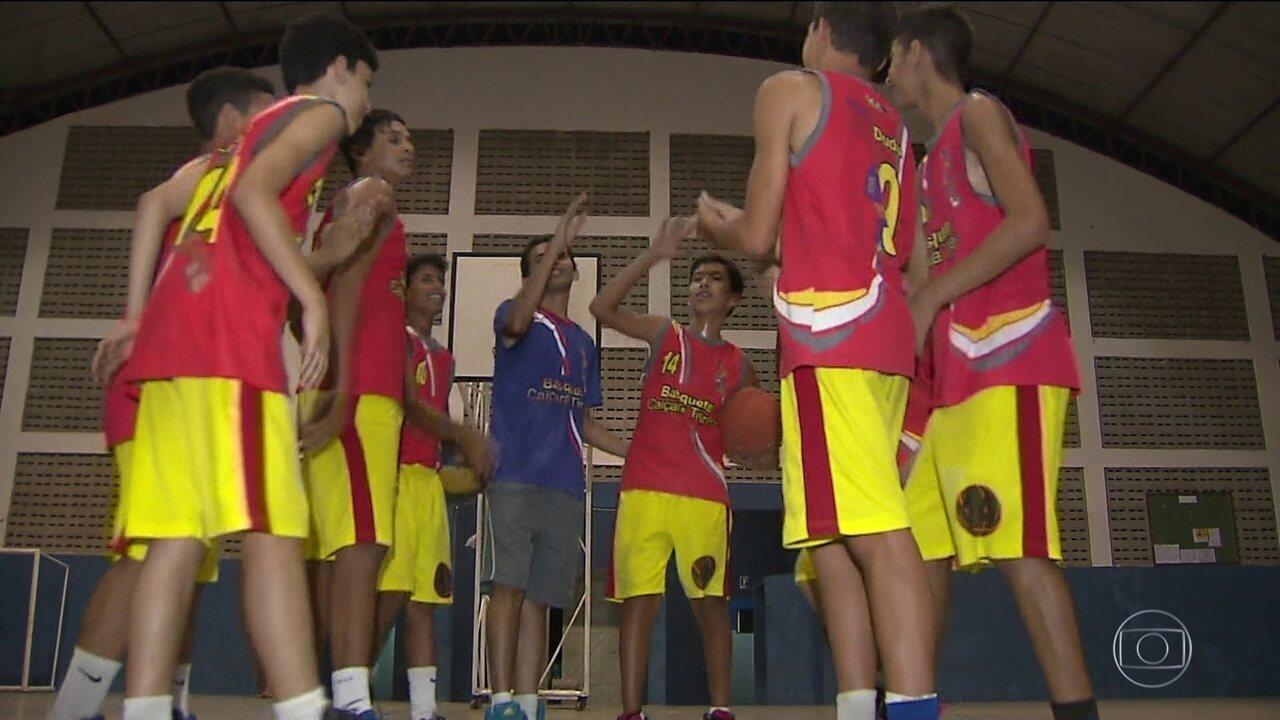Exemplo de solidariedade e fairplay ajuda time de basquete da Paraíba
