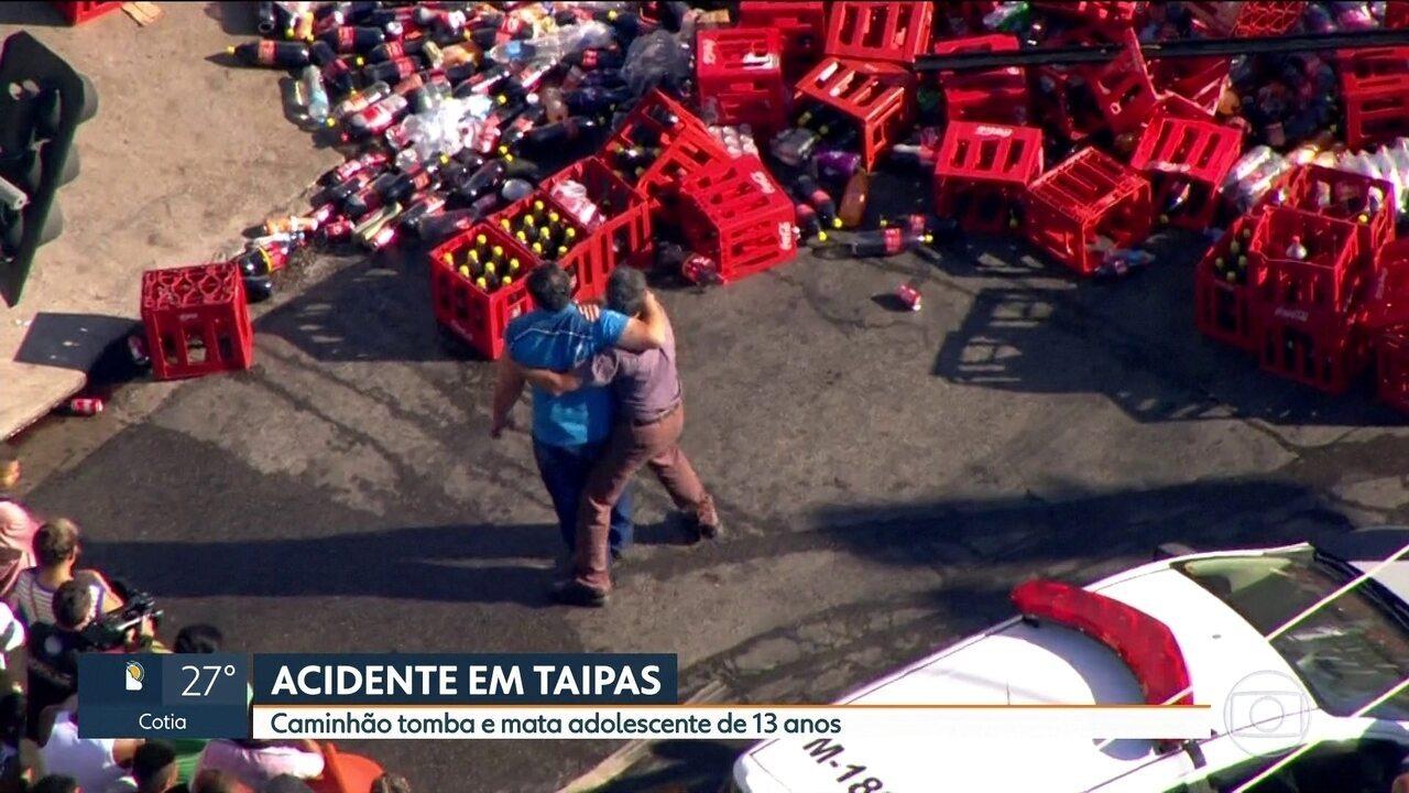 Em manhã violenta no trânsito, duas jovens morrem em acidentes na capital paulista