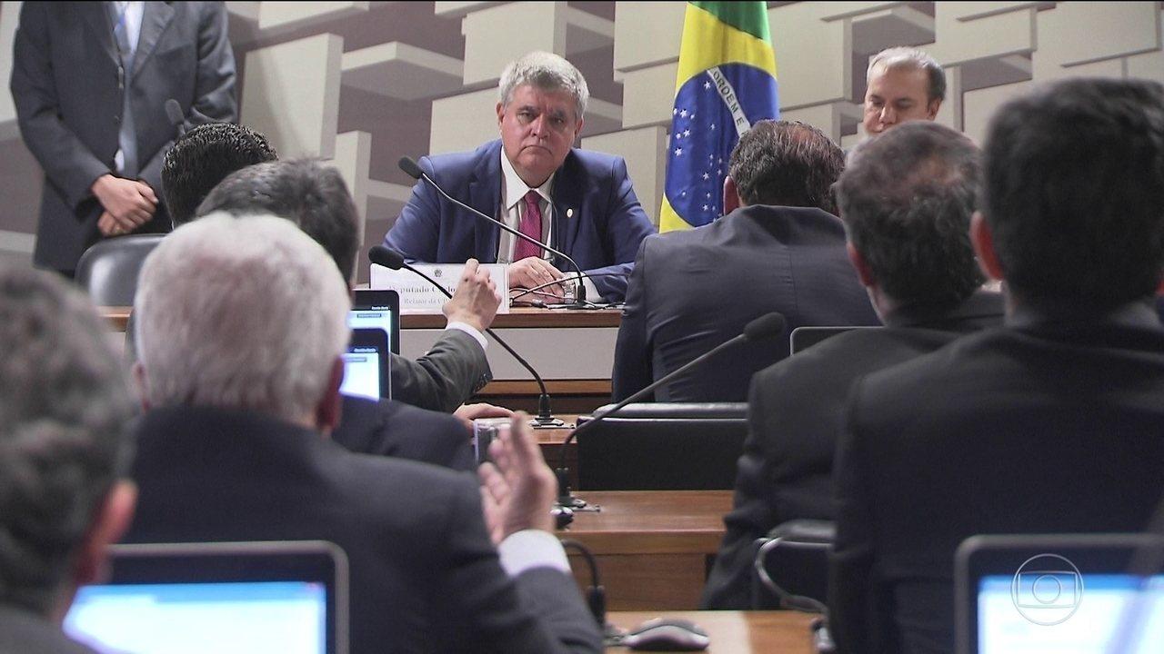 Resultado de imagem para Dois senadores deixam CPI da JBS após escolha de Carlos Marun como relator