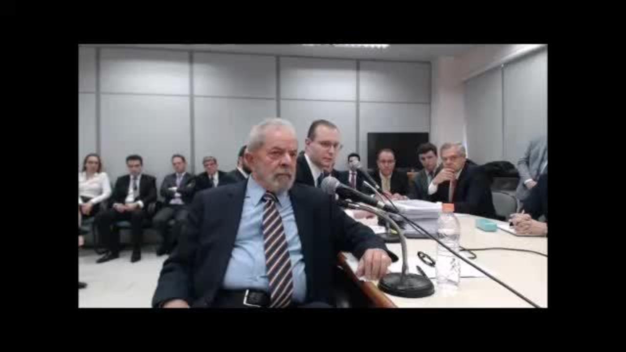 2º depoimento de Lula a Sérgio Moro – parte 1