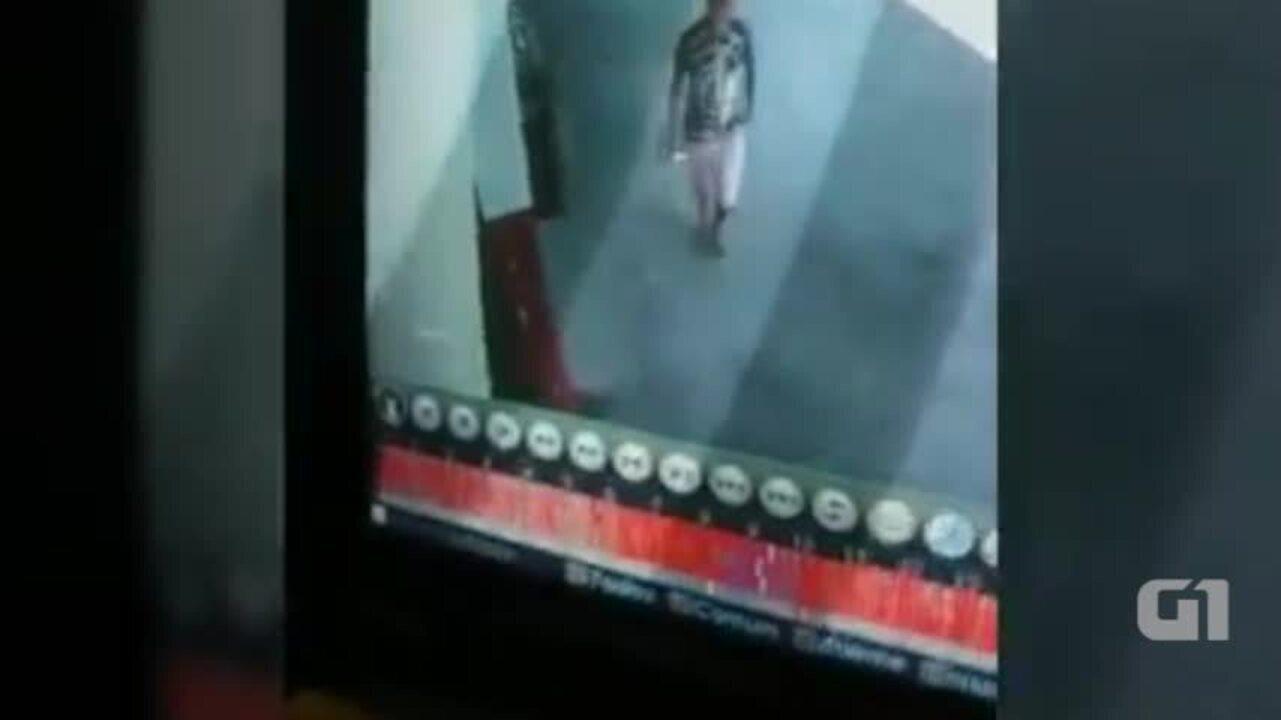 Bandidos picham câmeras para fazer assalto em loja