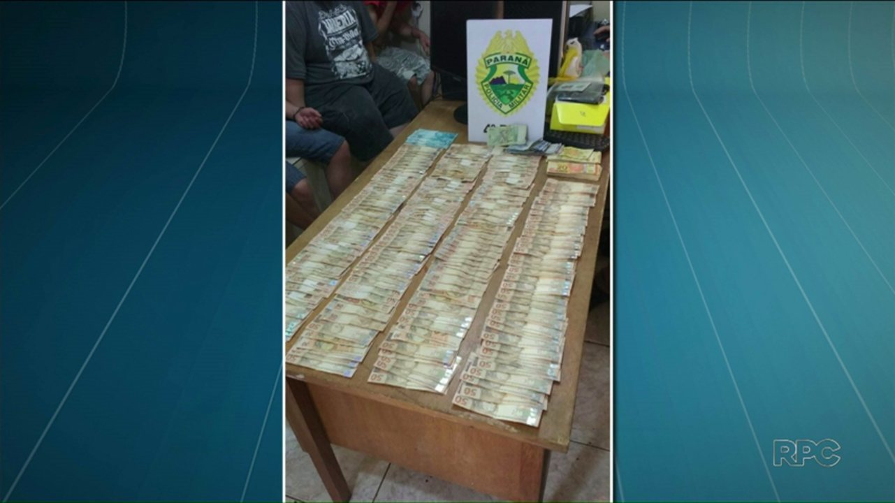 Polícia prende sete suspeitos de envolvimento em roubo a agência de Guairaçá