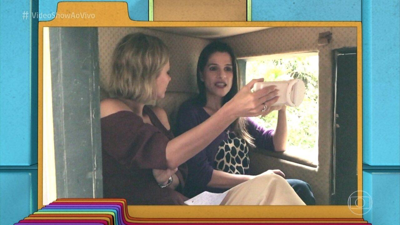 Ingrid Guimarães faz revelaçõs no quadro do 'Vídeo Show'