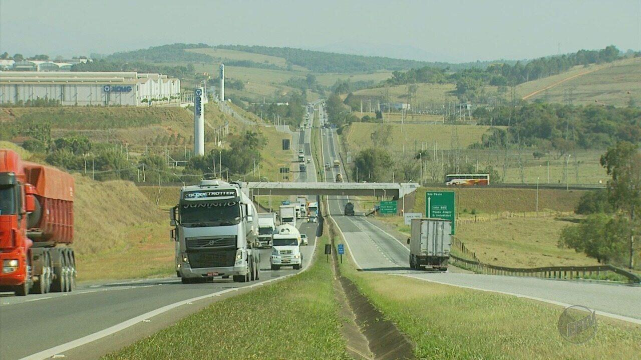 Sono causou pelo menos 180 acidentes em 2017 na rodovia Fernão Dias, no Sul de MG
