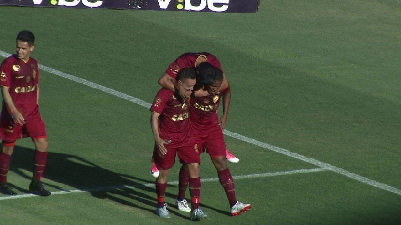 Veja os gols do jogo entre Vila Nova e Luverdense