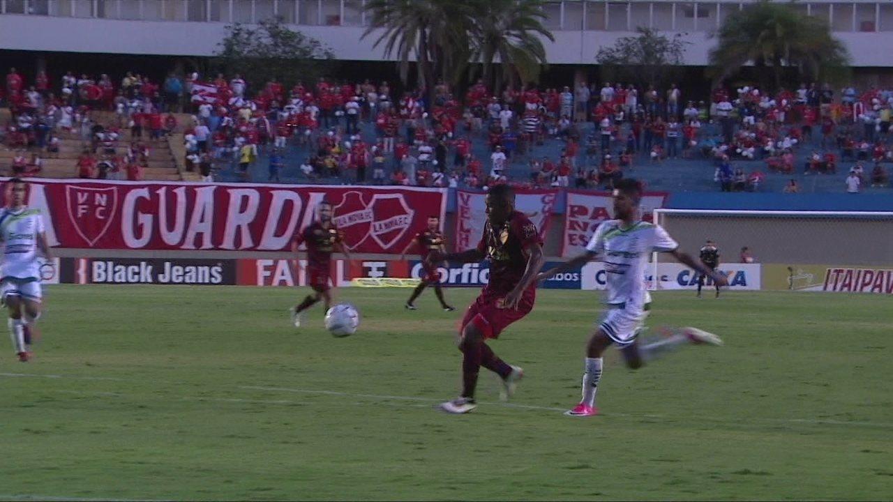 Melhores momentos de Vila Nova 2 x 1 Luverdense pela 24ª rodada da Série B