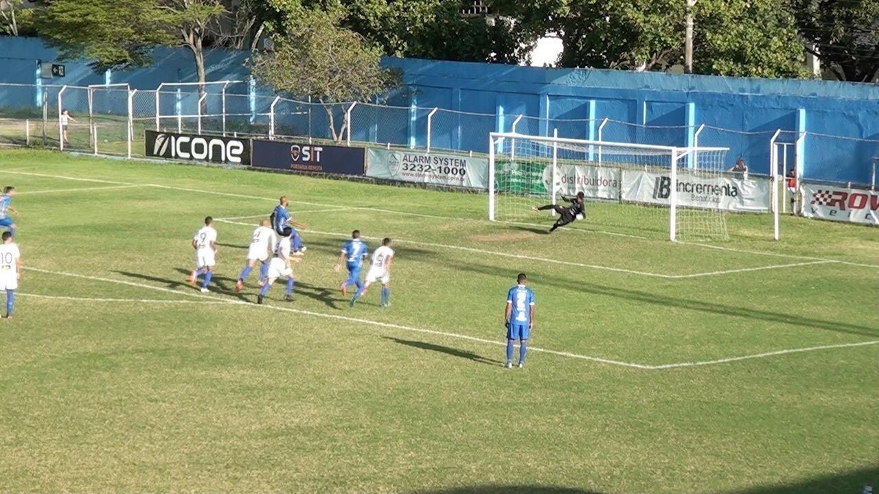 Assista aos gols de Vitória-ES 2 x 0 Linhares, pela Copa Espírito Santo 2017