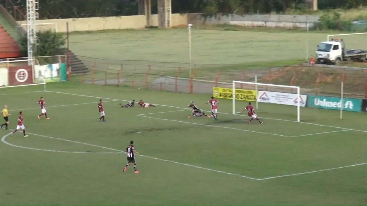 O gol de Geraldo, aos 44 minutos do segundo tempo, que classificou o Atlético-ES para a semfinal da Copa ES 2017