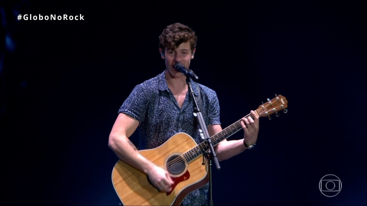 'Stitches' anima público de Shawn Mendes no Rock in Rio 2017